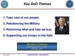 key dod themes