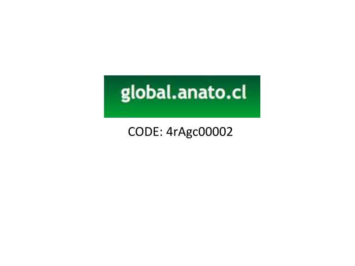 CODE: 4rAgc00002