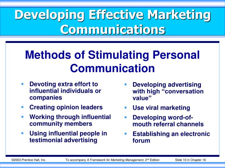 Devoting extra effort to influential individuals or companies
