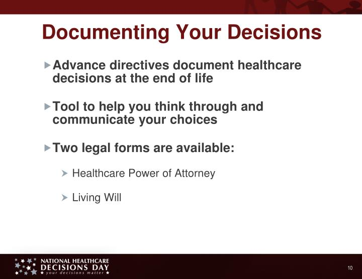 Documenting Your Decisions