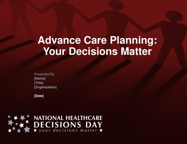 Advance Care Planning: