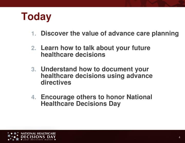 Discover the value of advance care planning