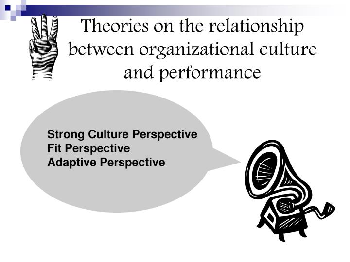 Theories on the relationship between organizational culture and performance