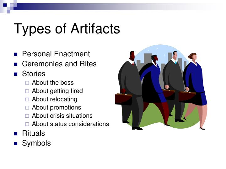 Types of Artifacts