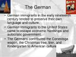 the german