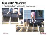 silca grate tm attachment