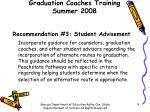 graduation coaches training summer 20087