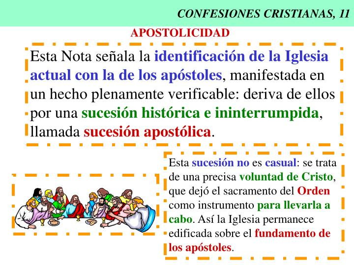 CONFESIONES CRISTIANAS, 11