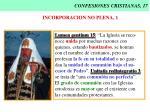 confesiones cristianas 17