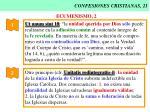 confesiones cristianas 21