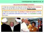 confesiones cristianas 23