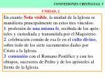 confesiones cristianas 5