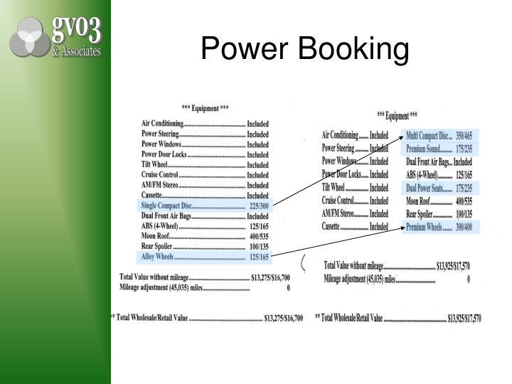 Power Booking
