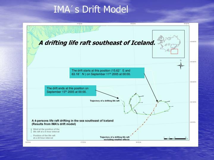 IMA´s Drift Model