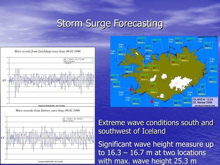 Storm Surge Forecasting