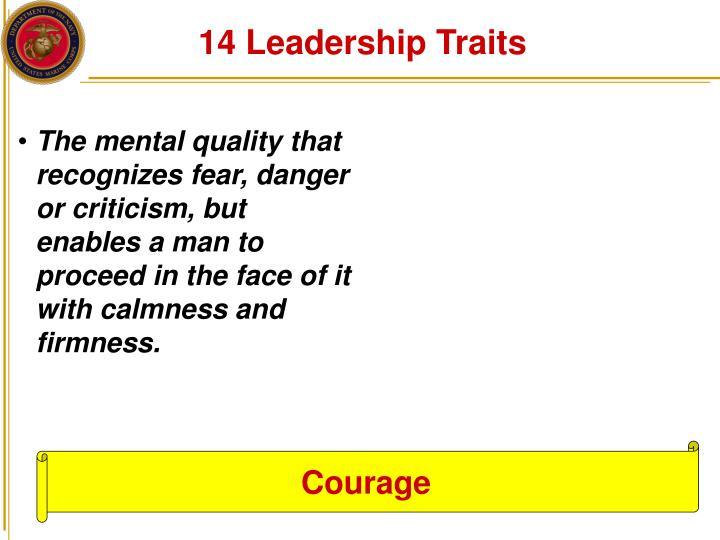 14 Leadership Traits