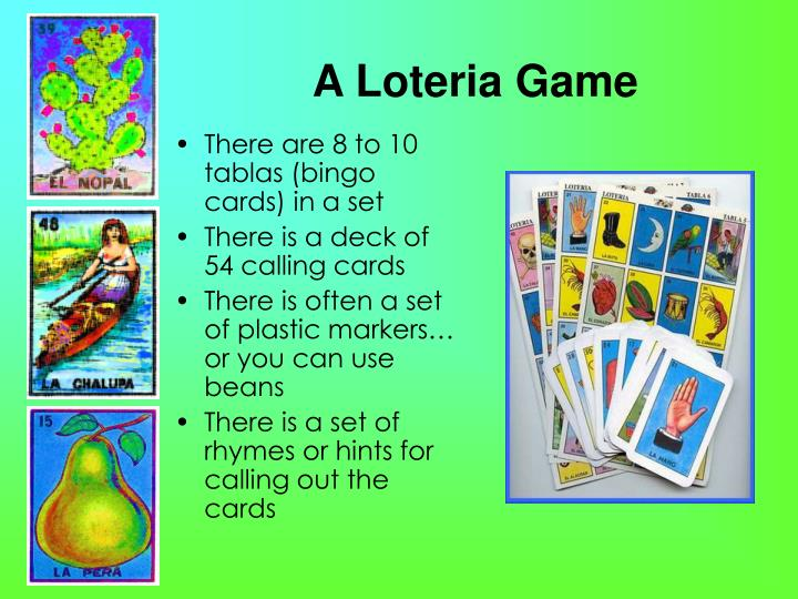 A loteria game