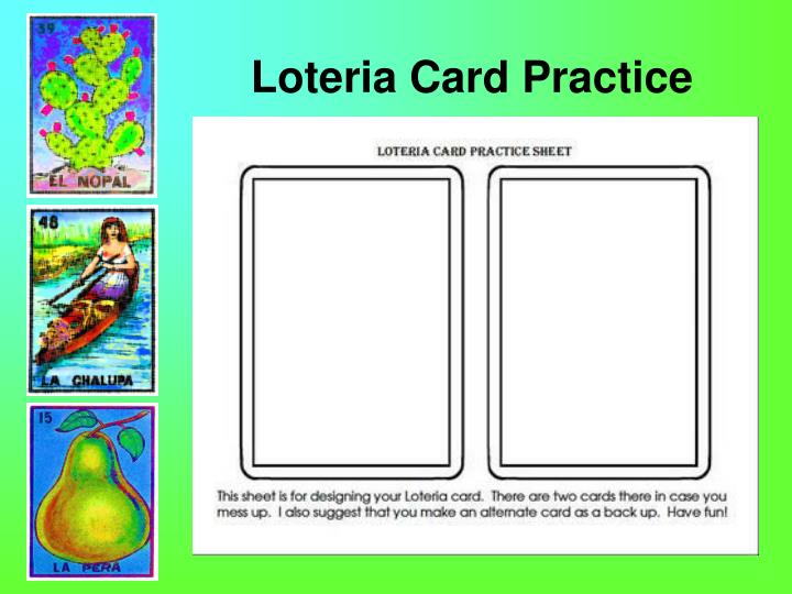 Loteria Card Practice