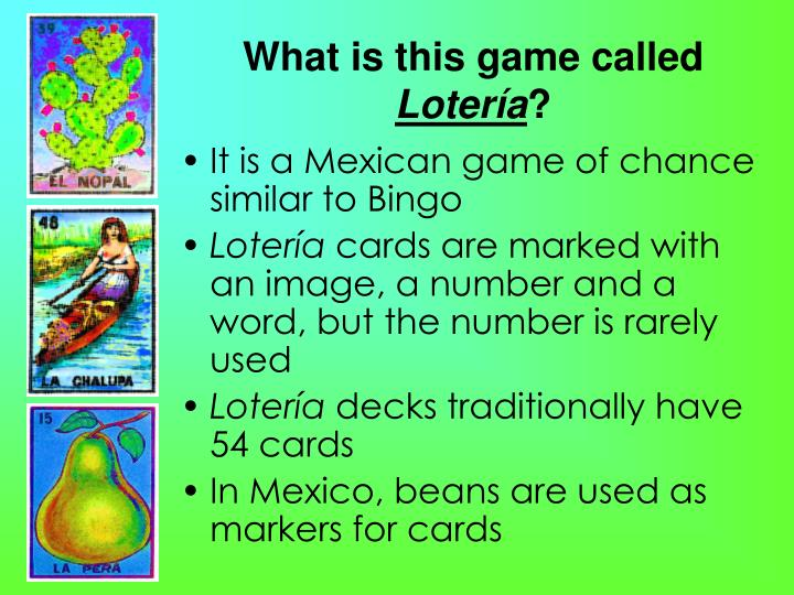 What is this game called loter a