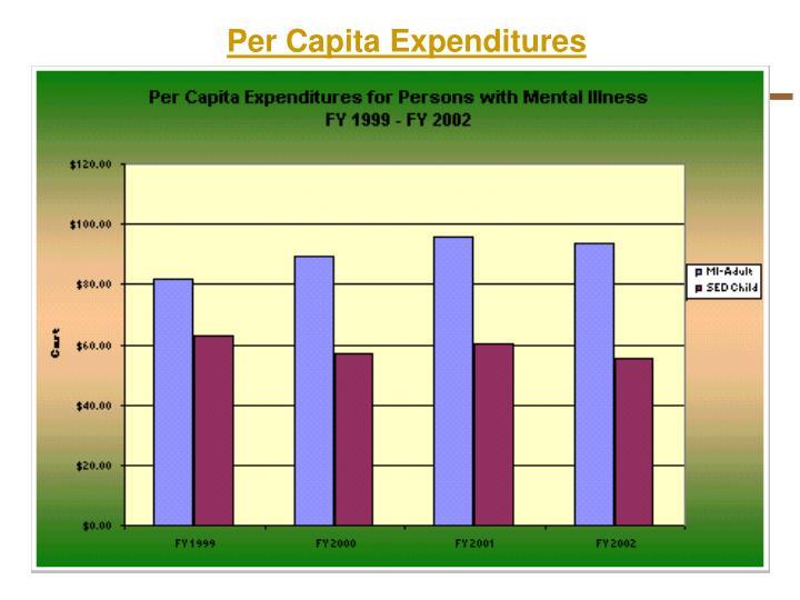Per Capita Expenditures