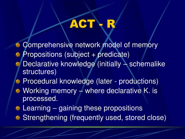 ACT - R