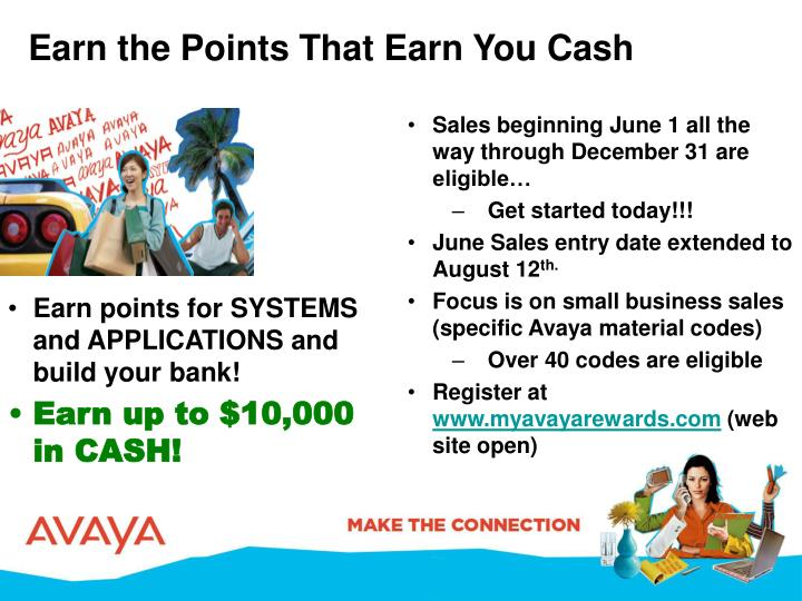 Earn the Points That Earn You Cash