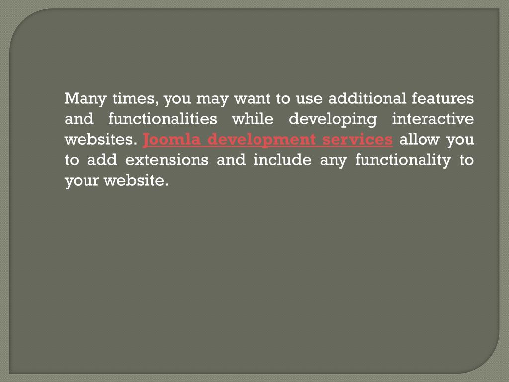 Many times, you may want to use additional features and functionalities while developing interactive websites.