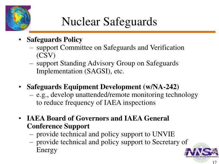 Nuclear Safeguards