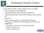 technology transfer control3