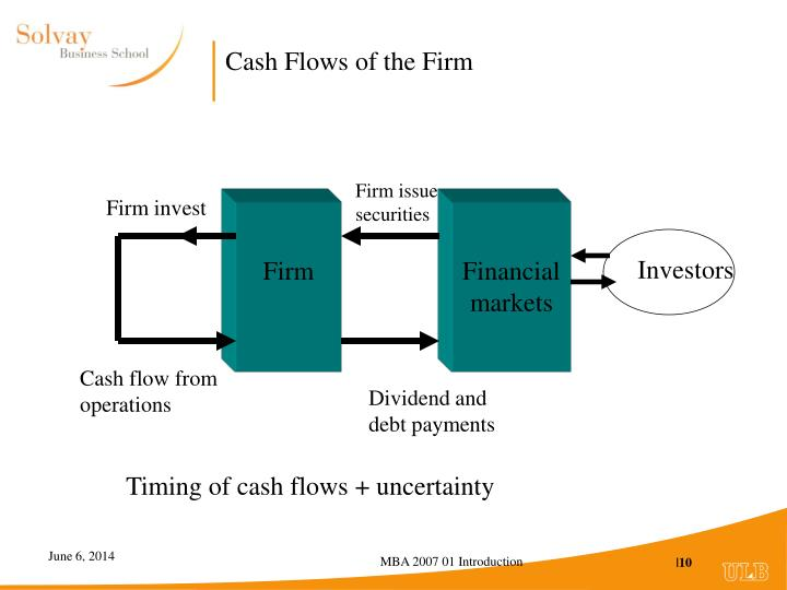 Cash Flows of the Firm