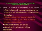 i advantages of the metric system for scientific measurement2