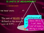 ii units of measurement5