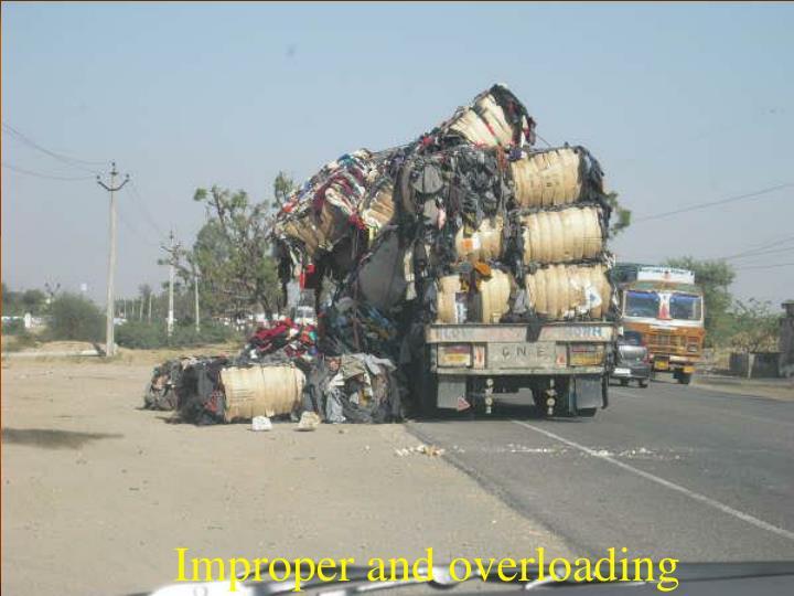 Improper and overloading