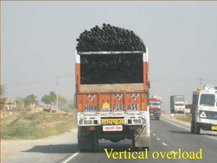 Vertical overload