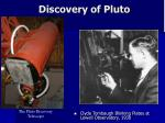 discovery of pluto