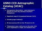 usno ccd astrographic catalog ucac