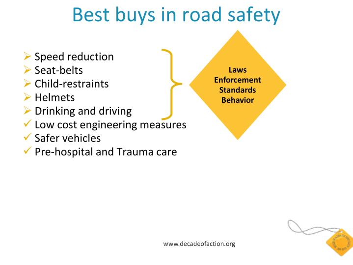 Best buys in road safety