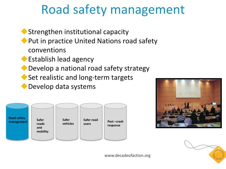 Road safety management