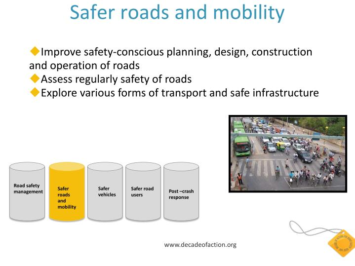 Safer roads and mobility