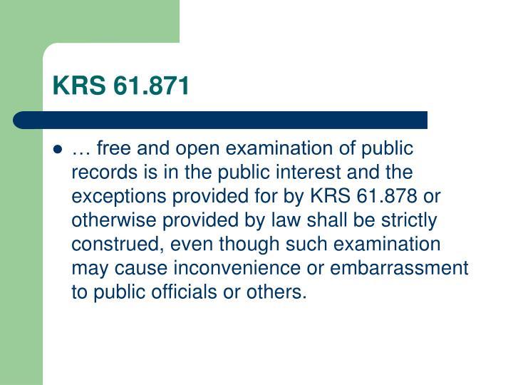 KRS 61.871