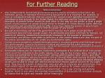 for further reading5