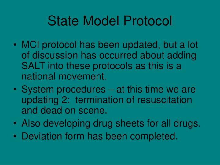 State Model Protocol
