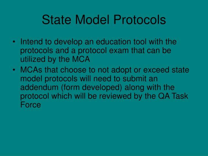 State Model Protocols