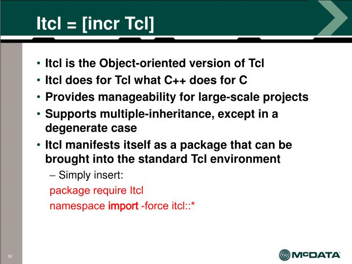 Itcl = [incr Tcl]