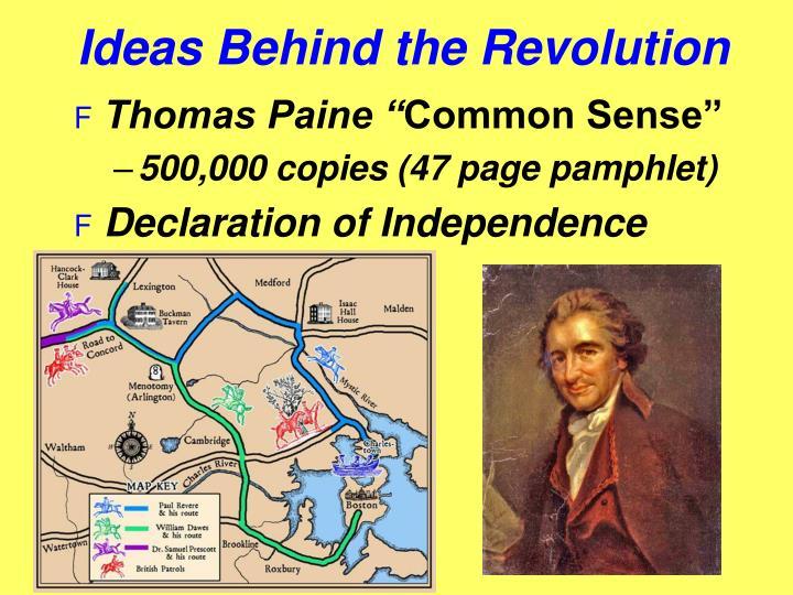 Ideas Behind the Revolution