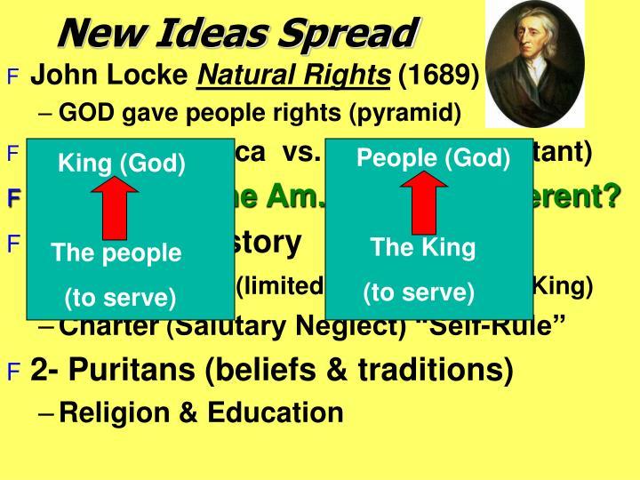 New Ideas Spread