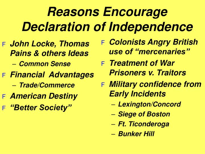 """Colonists Angry British  use of """"mercenaries"""""""