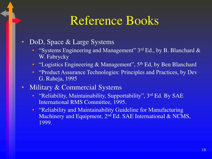 Reference Books