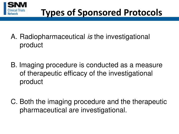 Types of Sponsored Protocols