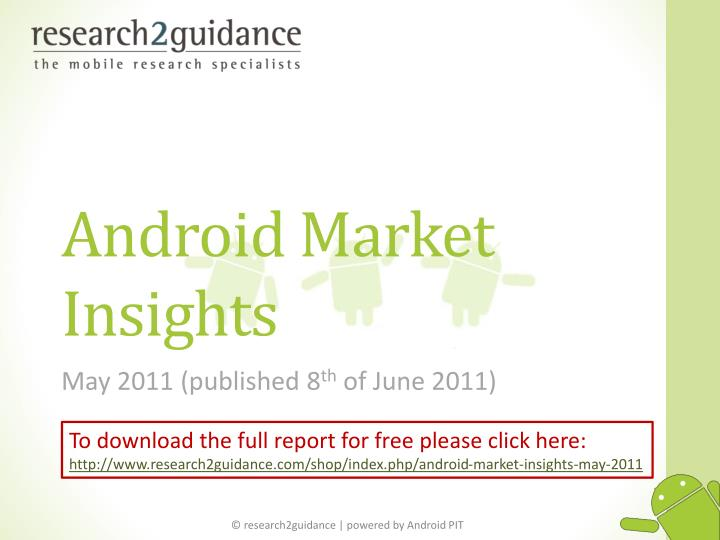 Android market insights l.jpg